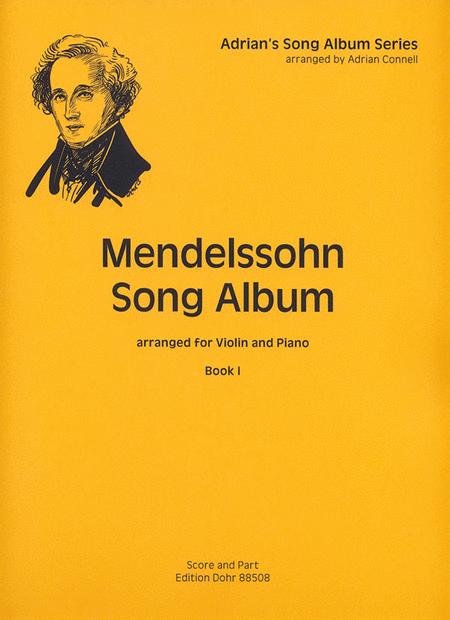 Mendelssohn Song Album I fur Violine und Klavier