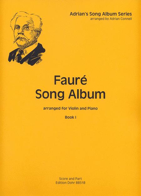 Faure Song Album I fur Violine und Klavier