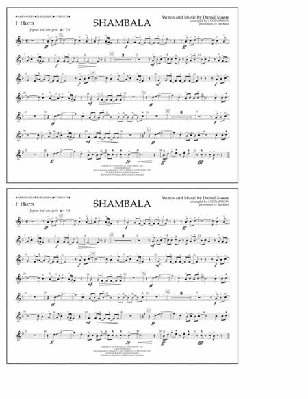 Shambala - F Horn