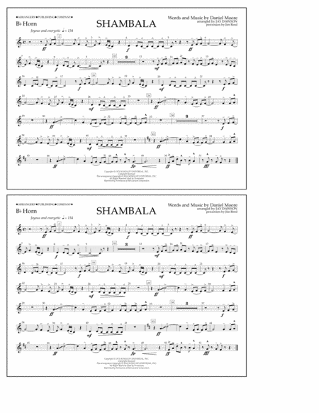 Shambala - Bb Horn