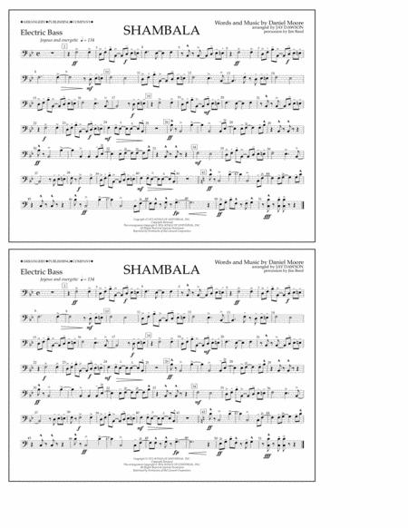 Shambala - Electric Bass