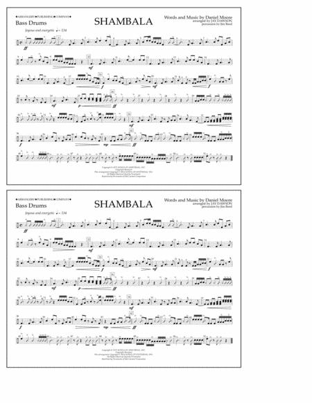 Shambala - Bass Drums