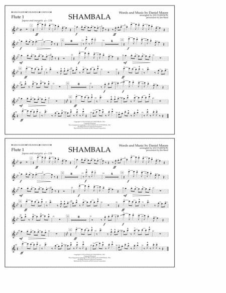 Shambala - Flute 1