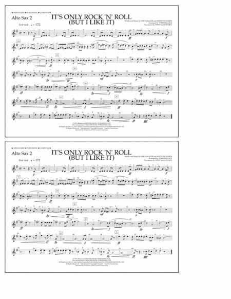 It's Only Rock 'n' Roll (But I Like It) - Alto Sax 2