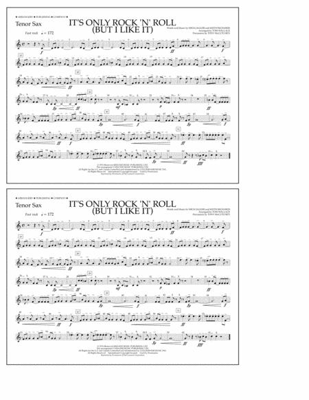 It's Only Rock 'n' Roll (But I Like It) - Tenor Sax