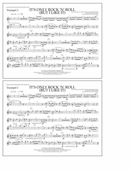 It's Only Rock 'n' Roll (But I Like It) - Trumpet 1