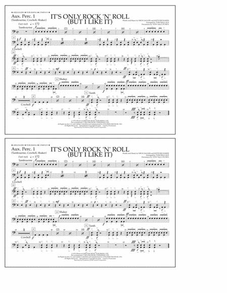 It's Only Rock 'n' Roll (But I Like It) - Aux. Perc. 1