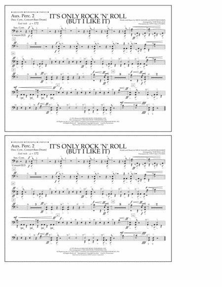 It's Only Rock 'n' Roll (But I Like It) - Aux. Perc. 2