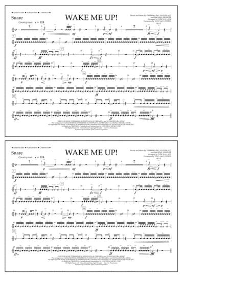 Wake Me Up! - Snare