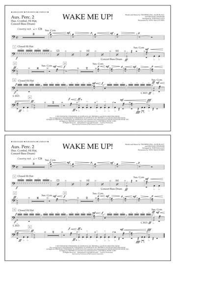 Wake Me Up! - Aux. Perc. 2