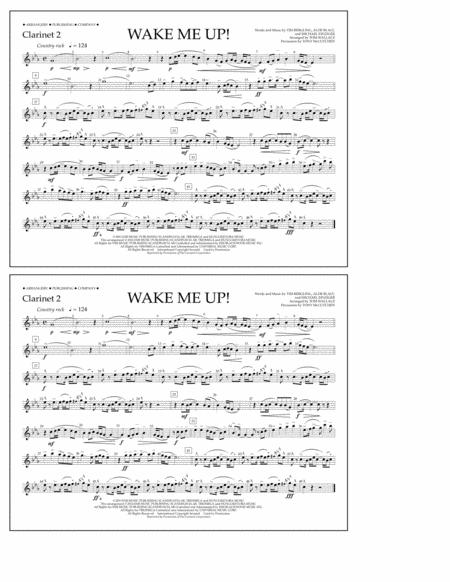 Wake Me Up! - Clarinet 2