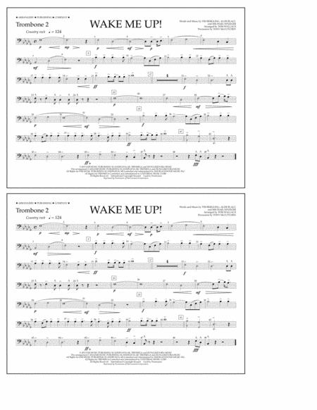Wake Me Up! - Trombone 2
