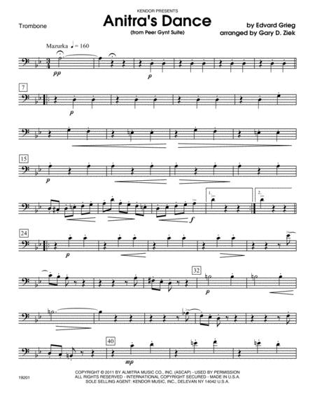 Anitra's Dance - Trombone