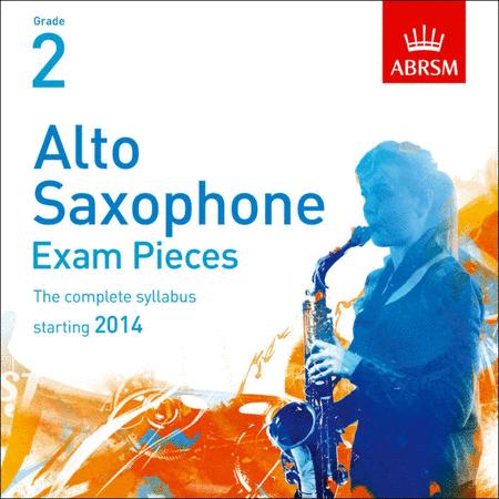 Alto Saxophone Exam Pieces 2014 CD, ABRSM Grade 2