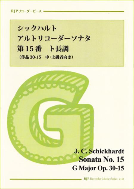 Sonata in G Major  Op. 30-15