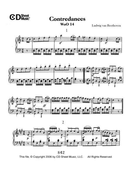 Contradances, Woo 14