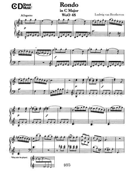 Rondo In C Major, Woo 48