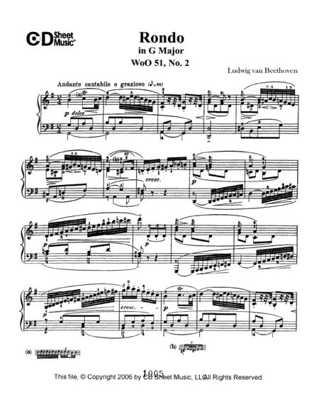 Rondo in G Major, Op. 51, No. 2