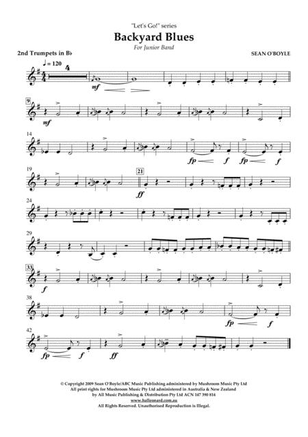 Backyard Blues - Bb Trumpet 2