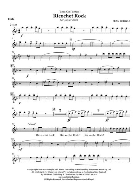 Ricochet Rock - Flute