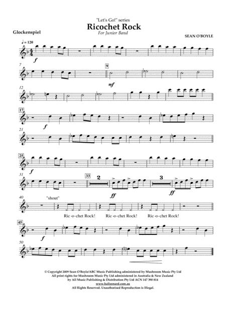 Ricochet Rock - Glockenspiel