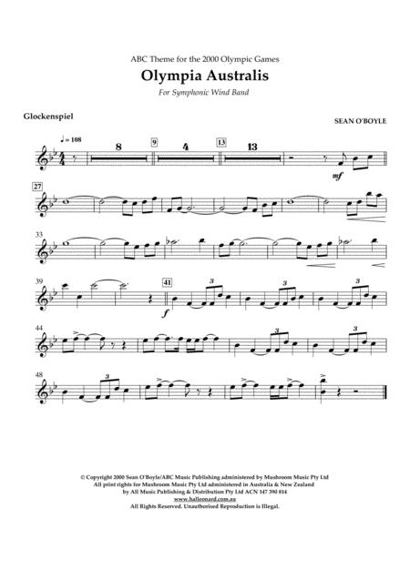 Olympia Australis (Symphonic Wind Band) - Glockenspiel