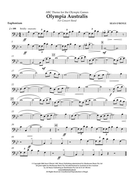 Olympia Australis (Concert Band) - Euphonium