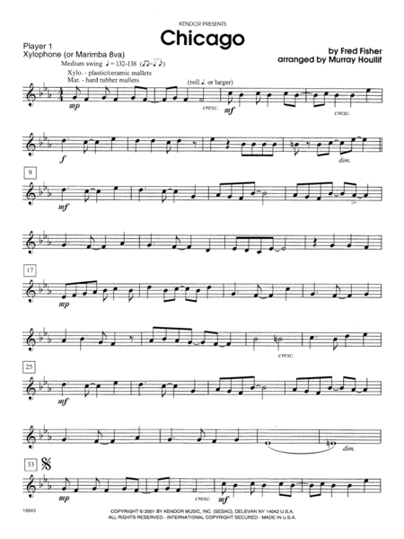 Chicago - Percussion 1