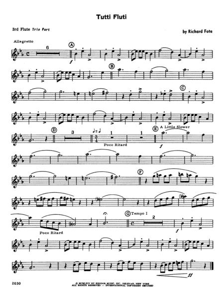 Tutti Fluti - Flute 3