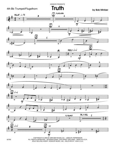 Truth - 4th Bb Trumpet