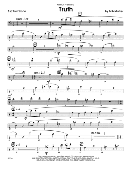 Truth - Trombone 1