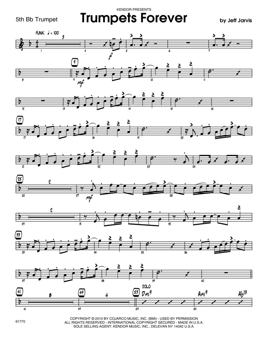 Trumpets Forever - Trumpet 5