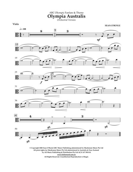 Olympia Australis (Orchestra) - Viola