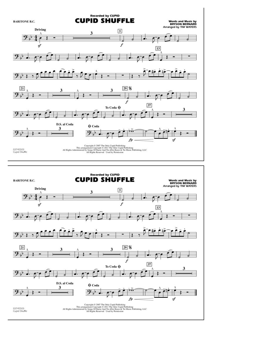 Cupid Shuffle - Baritone B.C.
