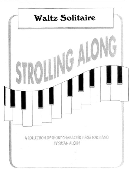 Waltz Solitaire from Strolling Along by Susan Alcon