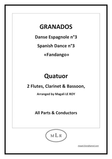 Spanish Dance n°3 Fandango