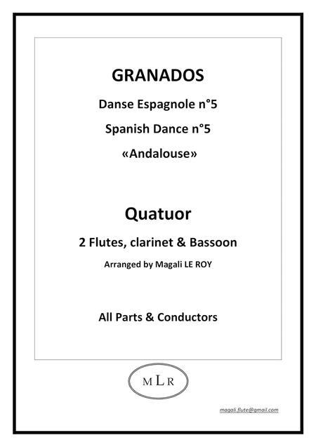 Spanish Dance n°5 Andalouse