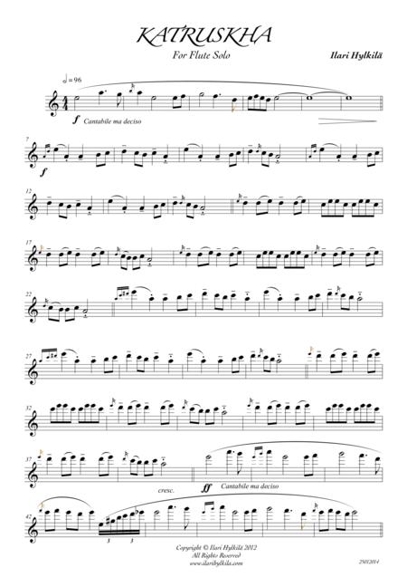 Katruskha (for Flute)