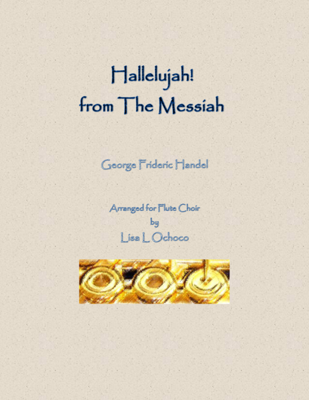 Hallelujah from The Messiah for Flute Choir
