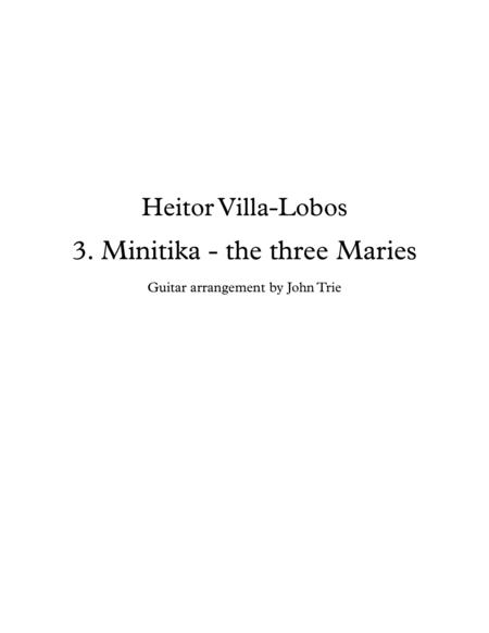 Minitika - the three Maries