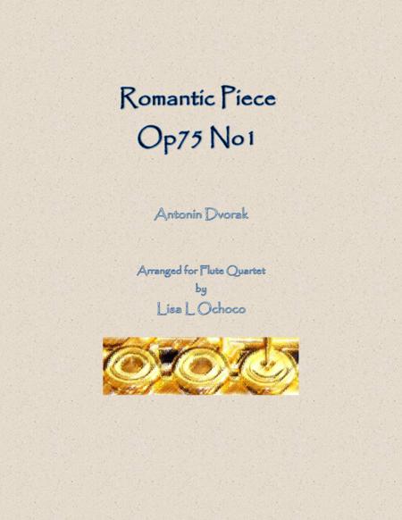 Romantic Piece Op75 No1 for Flute Quartet