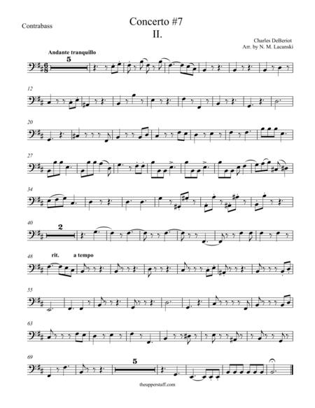 Violin Concerto #7 Second Movement