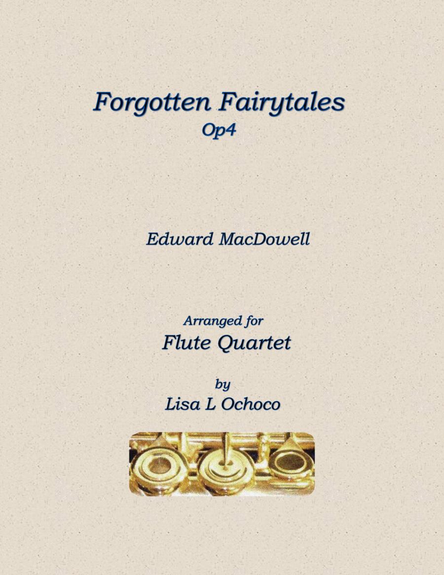 Forgotten Fairytales Op4 for Flute Quartet