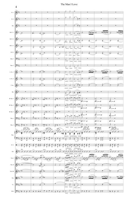 The Man I Love-- Revised Full Score