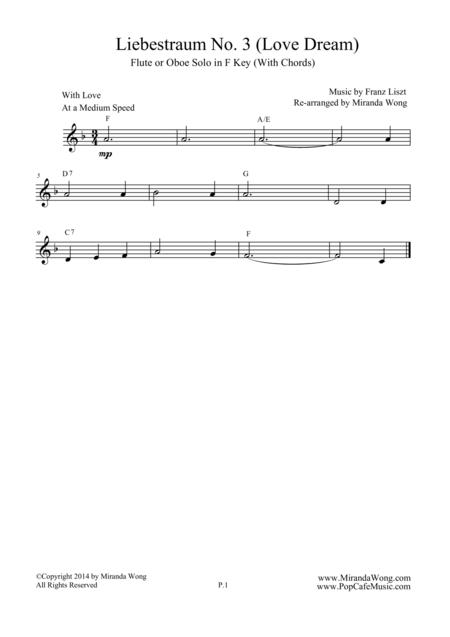 Liebestraum No.3 (Love Dream) - Romantic Easy Flute Music