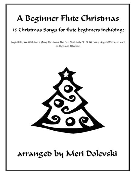 A Beginner Flute Christmas