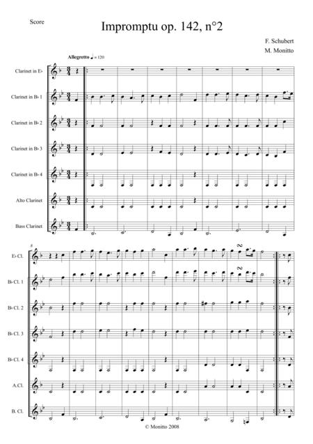 Impromptu op. 142, n° 2