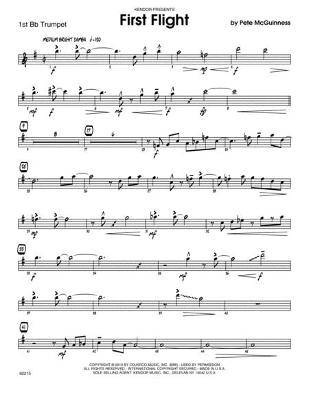 First Flight - 1st Bb Trumpet