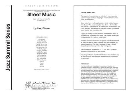 Street Music - Full Score