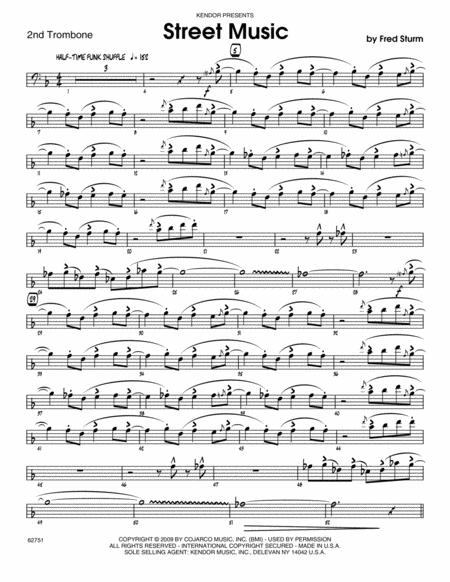 Street Music - Trombone 2